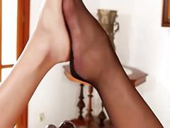 Milf stockings lesbians, Tit play lesbians, Stockings footjob, Stockings fetish lesbians, Stocking big tit lesbians, Milf stockings heels