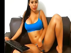 Big tits solo, Webcam solo