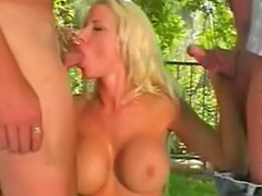 Tit fuck threesome, Threesome outdoor, Outdoor big tits, Outdoor threesome, Kelly kelly, Kelly d