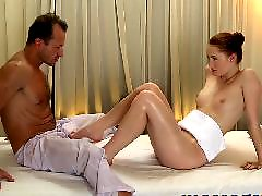 Massage, Teen creampie, Creampie