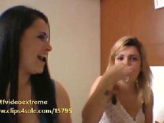 Lesbian kissing, Kissing, Brazilian