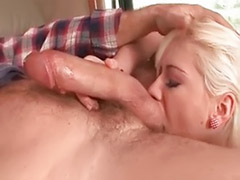 Suck blond, Hot couple, Hot blowjob, Goes, Blond suck, Blond sucking