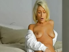T-shirts, White shirt, White solo, White girls, White girl, White blonde masturbating