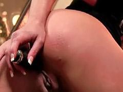 Pornstar anal solo, Striptease anal, Anal solo blonde big, Charisma