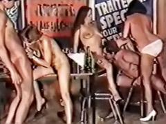 Vintage group, Group vintage, Ärsche, Dicke titten