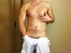 White wank, White wanking, White solo, White gay, Shorts gay, Short short
