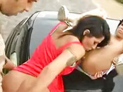 Threesome outdoor, Sex car, Latin threesome, Outdoor threesome, Jenaveve jolie threesome, Jolie