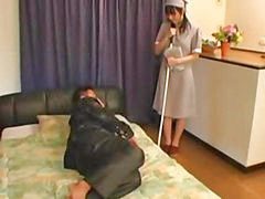 Japanese, Maid, Anal, Sex