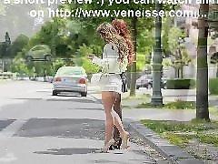 Fisting, Public, Lesbian, Car, Upskirt, Flashing