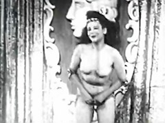 Vintage girl, Vintage busty, Vintage tits, Tits shaking, Tits shake, Shaking tits solo