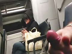 Trained, Train amateur, Spycam solo, Male spycam, Male flashing, On train