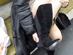 Public, Flashing, Upskirt, Flash