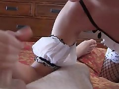 Handjob, Maid, Masturbation, Bdsm