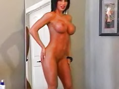Tits striptease, Redding brunette, Redding, Red girl, Striptease big tits, Streap
