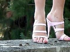 High heels, Heels, Close up