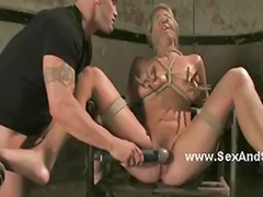 Hold, Dirty fetish, Domination bondage, Busty blonde, Busty blond, Busty bondage