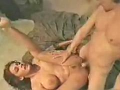 Vintage big, Vintage tits, Licking lovely, Big vintage tits, Vintage brunette, Vintage big tits
