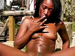 Tits solo toy masturbation, Tits solo masturbation, Tits solo, Tits ebony, Toys outdoor, Toying ebony solo