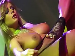 Stripped on stage, Strip stage, Strip busty solo, Strip busty, Solo busty strip, On stage
