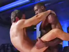 Interracial gay anal, Interracial gay oral, Gym wank, Gym gay, Gym cum, Gym anal sex