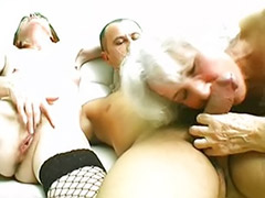 Tit fuck threesome, Threesome tits, Threesome stocking, Threesome grannies, Redheads big tits, Redhead oral