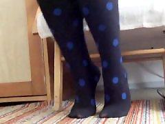 Nylon, Feet, Foot