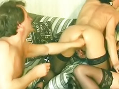 Vintage old, Vintage masturbating, Vintage threesomes, Vintage threesome, Threesome fist, Threesome old
