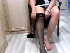 Stocking, Stockings, Upskirt
