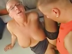 Saggy mature, Stockings glasses, Stockings big tits fucked, Stocking mature fuck, Saggy-tits, Saggy tit