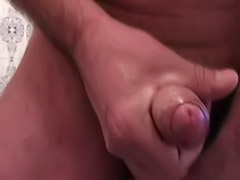 Sega, Male amateur wank, Solo male cum