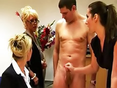 Office cfnm, Office babe, Cfnm babes, Slutty, Group cfnm, Cfnm group
