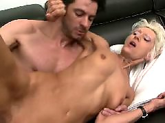 Granny, French, Mature anal