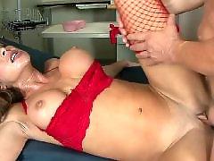 Nurse, Milf, Caught, Big tits