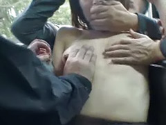 Tall asian, Public gangbang, Outdoors gangbang, Outdoor gangbang, Japanese tall, Japanese gangbang public