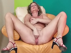 Stretching solo, Stretch solo, Solo lady, Lady solo, Horny mature solo, Amateur lady masturbation