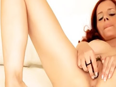 Vibratoring, Vibrator, Vibrate, Trying, Redhead solos, Redhead solo