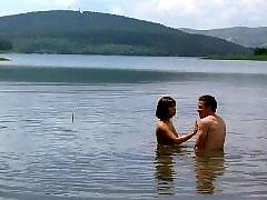 Public nudity, Public nude, Nudist, Nude public, Lake, Babe nude