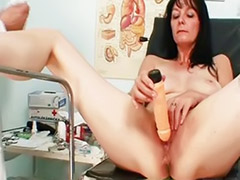 Twat, Hospiter, Fetish toy, Shaved mature, Milf hospital, Milf fetish