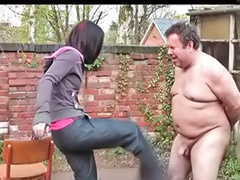 Femdom balls, Femdom ball, Busting, Busted, Ball spanking, Ball busting