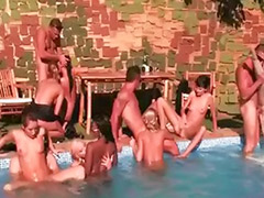 Mega anal, Mega, Outdoor orgy, Outdoor group, Outdoor anal group, Orgy sex