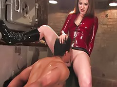 Painful spanking, Painful anal sex, Pain spanking, Pain sex, Pain anal sex, Strap on heels