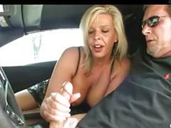 Milf handjob, Mom handjob, Mom, Mom masturbation