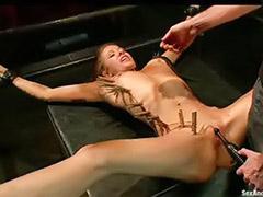 Toy and fucking, Extender, Bondage masturbation, Bondage fucking, Bondage fuck, Bondage toys