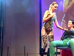 Public stage amateur, Public blond, Plays with her, Play public, Stage, On stage