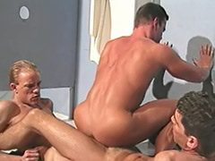 Uniforme gay, Uniform gay, Uniform anal, Toiletes, Toilet gay sex, Toilet gay cum
