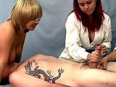 Handjob, Threesome