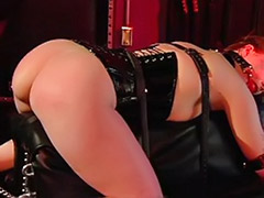 Very very sexe, Threesome vagina, Threesome slave domination, Threesome strap on, Threesome stockings blonde, Threesome stockings