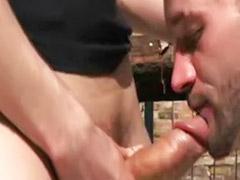 Trailer anal, Trailer, Junkyard, Big cock bareback, Bareback big, Cumhole