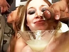 Swallow bukkake, Swallowing bukkake, Huge shot, Huge cums, Huge cum shots, Bukkake swallows