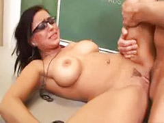 Vagina masturbate, Tits licked, Teacher school, Teacher masturbates, Masturbation with cum, Cum licking